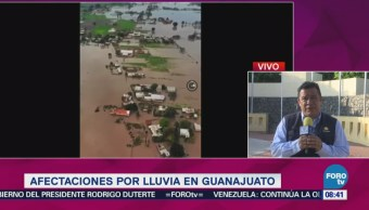 Afectaciones Lluvias Guanajuato Causado Viviendas