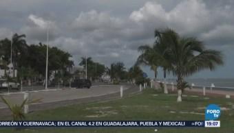 Lluvias Gran Parte Estado Campeche
