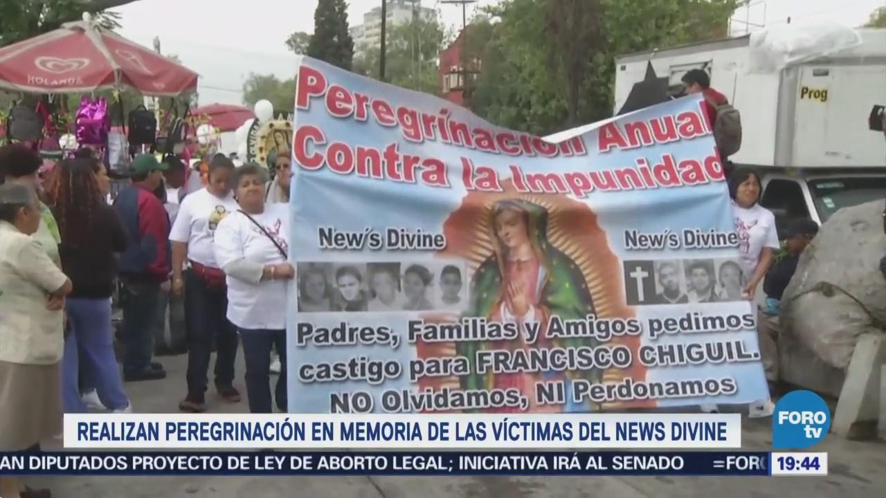 Realizan Peregrinación Memoria Víctimas News Divine