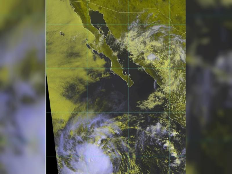 Se forma tormenta tropical Emilia; se ubica en Baja California Sur