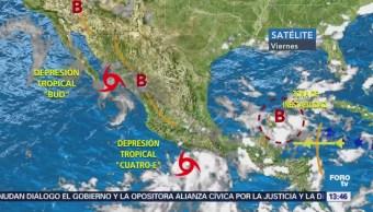Forma Tormenta Tropical Carlotta Guerrero