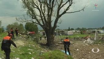 Se registra segunda explosión en Tultepec