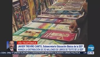 SEP Entrega Millones Libros Texto Educación Básica