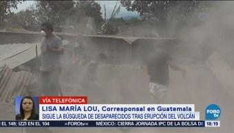 Sigue Búsqueda Desaparecidos Tras Erupción Volcán Fuego