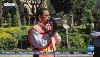 Simulacro Sismo Dependencias Municipales Puebla