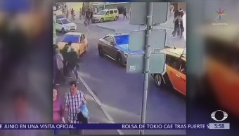 Taxista atropella a mexicanos en Moscú, Rusia