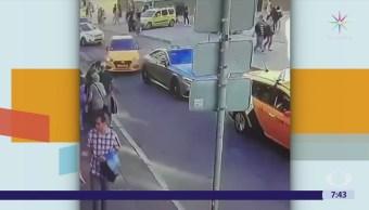 Taxista que atropelló a mexicanas en Moscú confundió los pedales