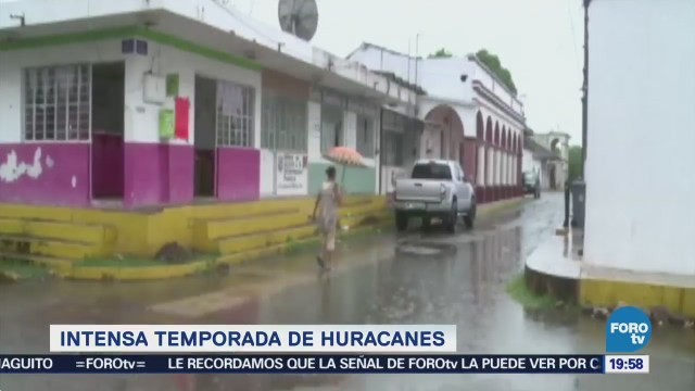 Temporada Huracanes Ciclones Intensa Año Clima