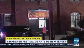 Tiroteo en festival de arte de Nueva Jersey