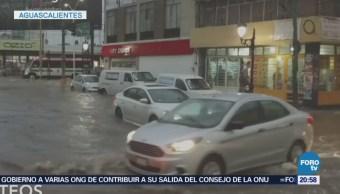 Tormenta Aguascalientes Deja Dos Muertos Inundaciones