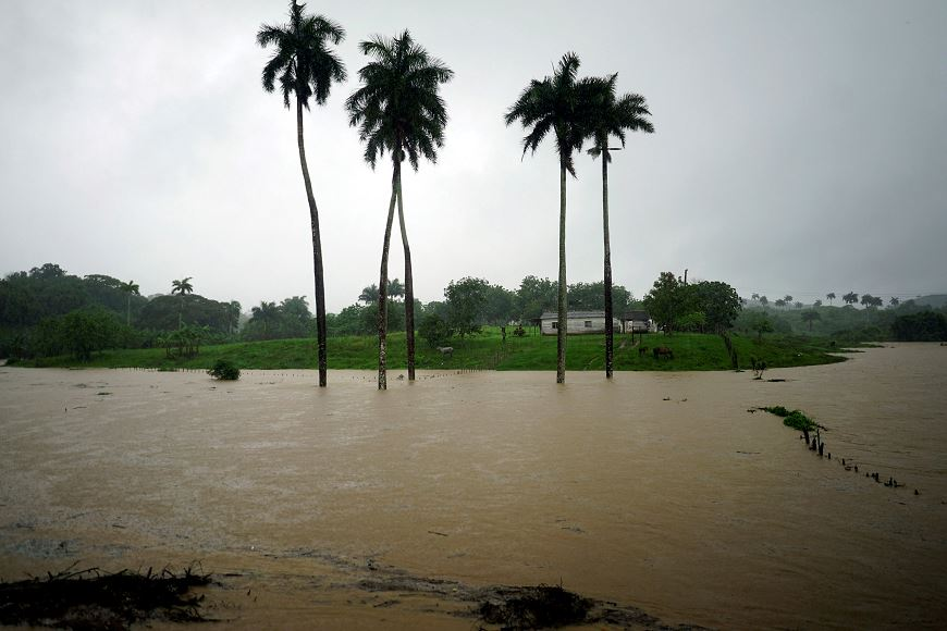 Suman siete fallecidos en Cuba por tormenta Alberto