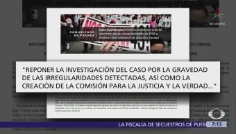 Tribunal ordena crear comisión de la verdad del caso Ayotzinapa