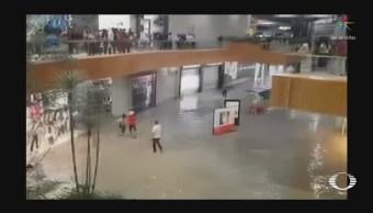Tromba causa destrozos en Jalisco