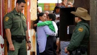 Trump culpa demócratas de separación de familias en frontera
