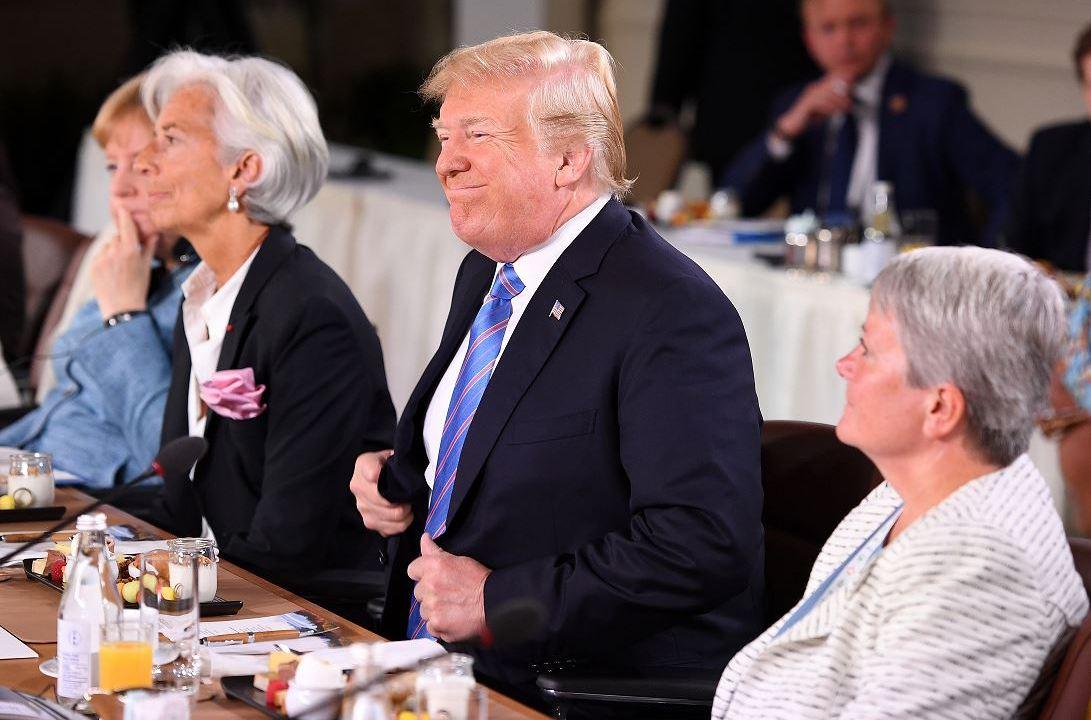 Trump añade suspenso al G7 al llegar tarde al desayunob
