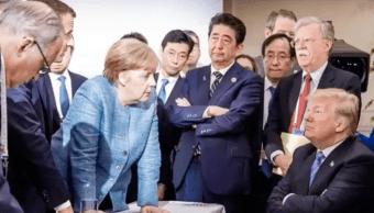 Donald Trump Estados Unidos G7 Foto