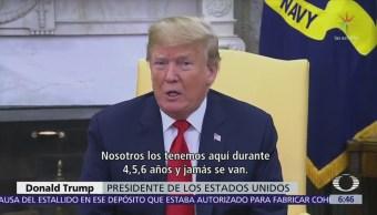 Trump insiste en negar asilo a inmigrantes