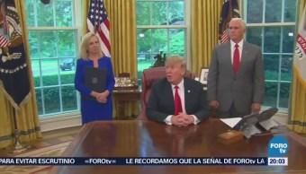 Trump Pone Fin Separación Familias Migrantes