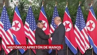 Trump y Kim se reúnen en