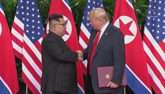 Trump Y Kim Reúnen Singapur