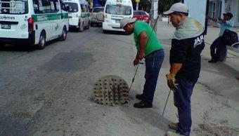 Implementan operativo de desazolve en Tuxtla Gutiérrez