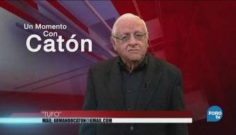 Momento Armando Fuentes Catón Junio Tufo