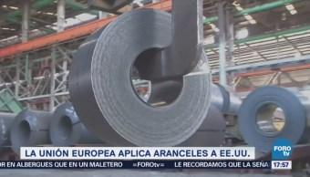 Unión Europea aplica aranceles a productos