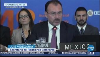 Videgaray se solidariza con Guatemala, ante erupción de volcán