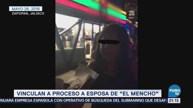 Vinculan Proceso Esposa El Mencho CJNG