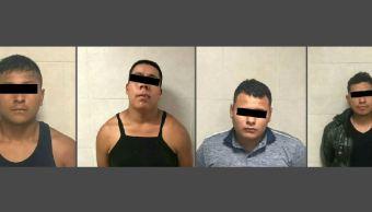 Vinculan a proceso a seis hombres por delincuencia organizada y secuestro