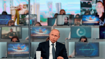 Putin realiza su tradicional Línea Directa