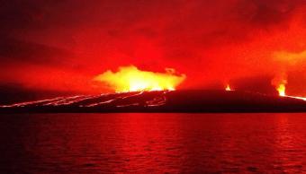 Sigue alerta por volcán Sierra Negra del archipiélago Galápagos