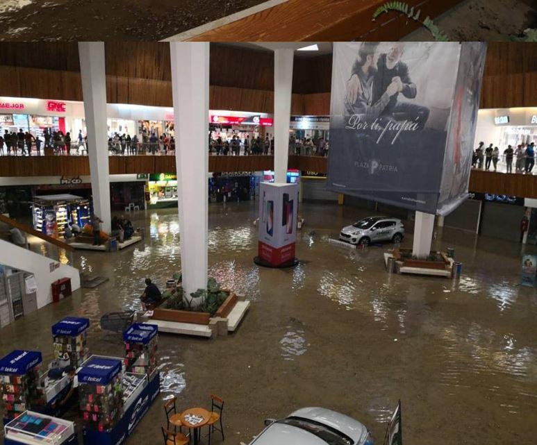 tromba inundaciones zapopan jalisco guadalajara lluvia