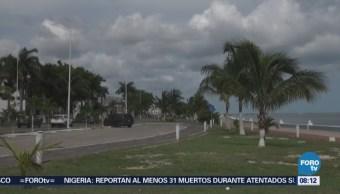 Zonas de inestabilidad provocan lluvias en Campeche