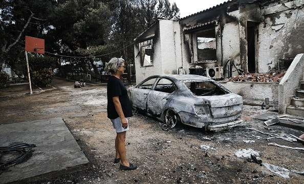Grecia encuentra indicios de actos criminales en incendios