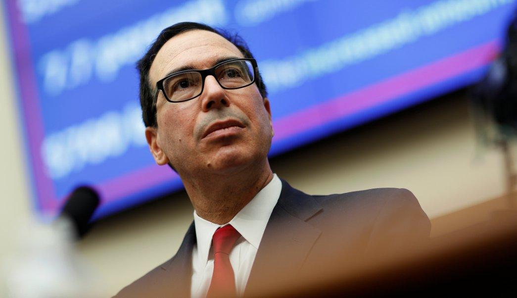 Trump no busca intervenir en mercados cambiarios: Mnuchin