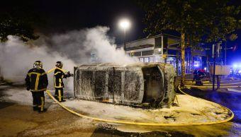 detienen 11 personas segunda noche disturbios francia