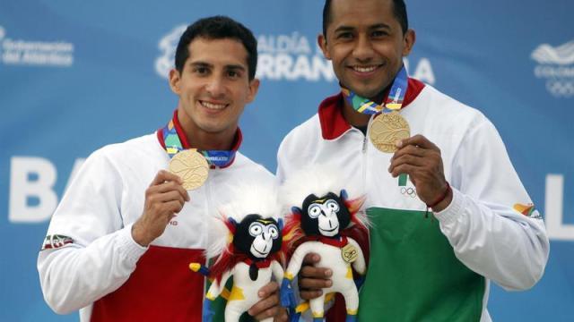 Rommel Pacheco y Jahir Ocampo ganan oro en Centroamericanos