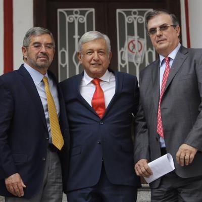 AMLO invita a Juan Ramón de la Fuente como representante en la ONU