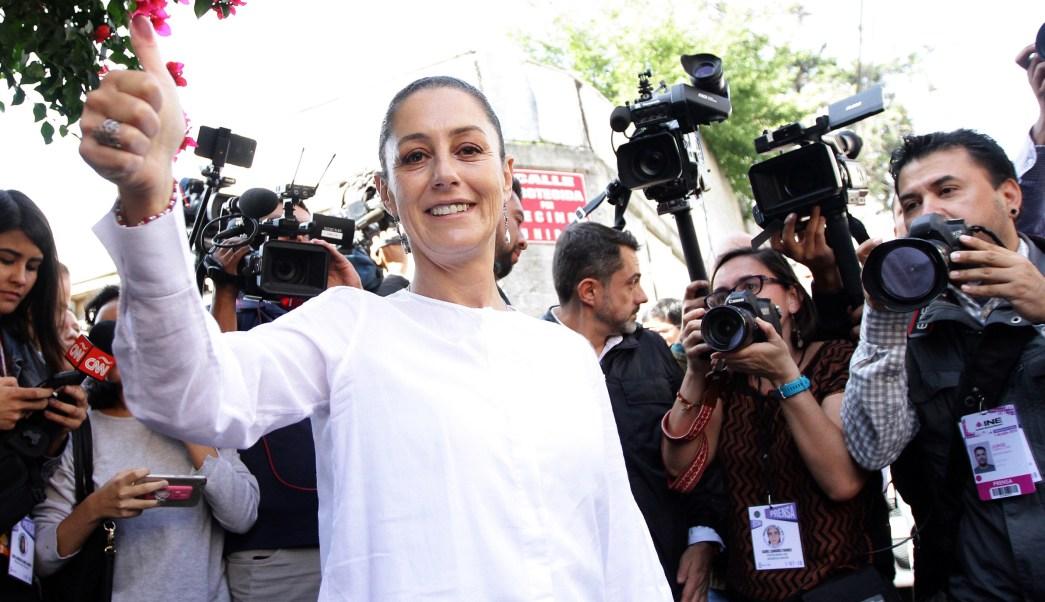 Claudia Sheinbaum obtiene 47% de los votos en CDMX