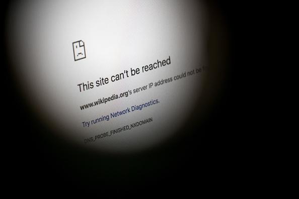 Wikipedia cierra temporalmente por nueva ley sobre derechos