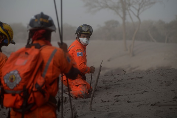 Volcán de Fuego vuelve presentar actividad