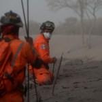 Baja cifra desaparecidos por erupción de Volcán Guatemala