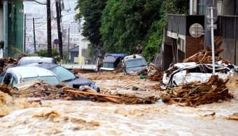 Medio centenar de fallecidos por lluvias en Japón