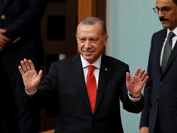 Erdogan asumió la presidencia de Turquía