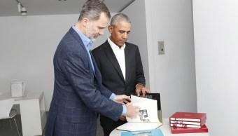 El rey de España y Obama visitan el Museo Reina Sofía