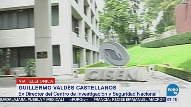 Abolición del CISEN se hace por desconocimiento de la ley: Guillermo Valdés