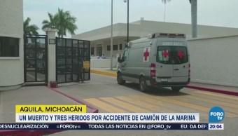 Accidente Camión Militar Muerto Heridos Michoacán