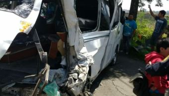 Choque en la carretera Xochimilco-Topilejo deja 13 heridos