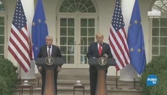 Acercamiento Trump-Juncker genera suspicacias